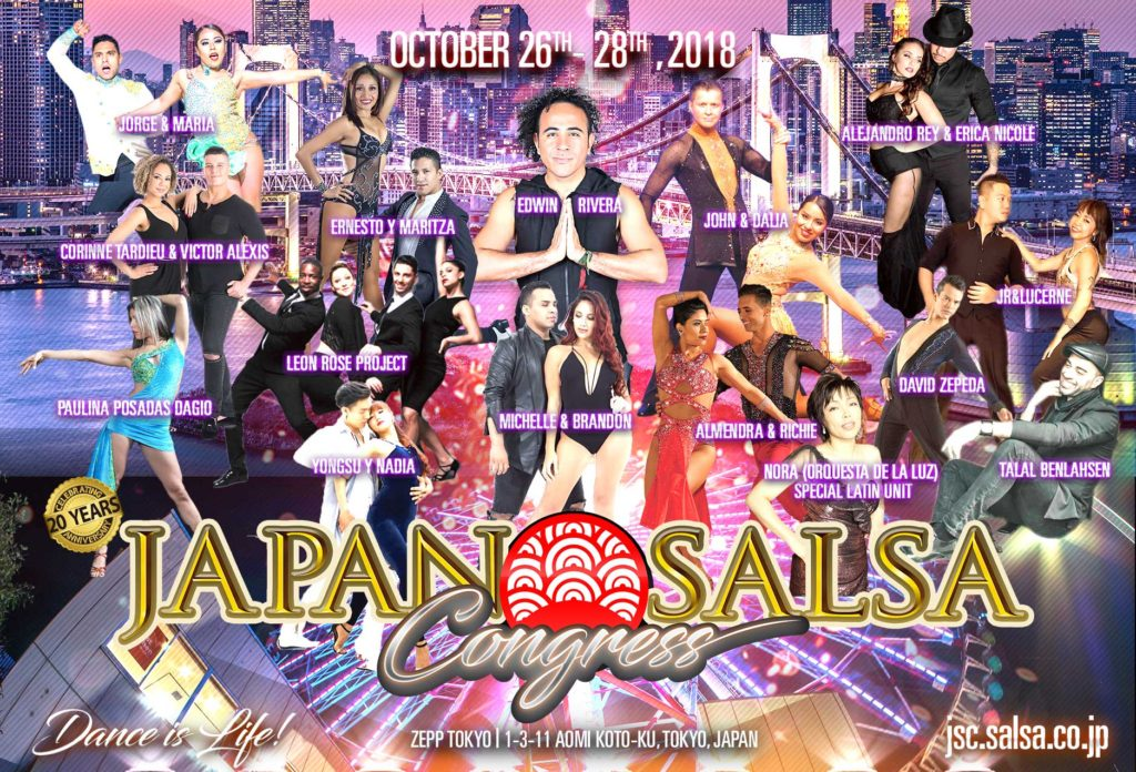 Japan Salsa Congress 2018 Flyer 01